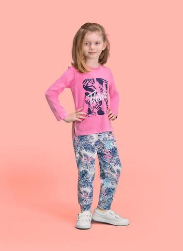 Roly Poly Rolypoly Florida Surf Kız Çocuk Pijama Takımı Pembe